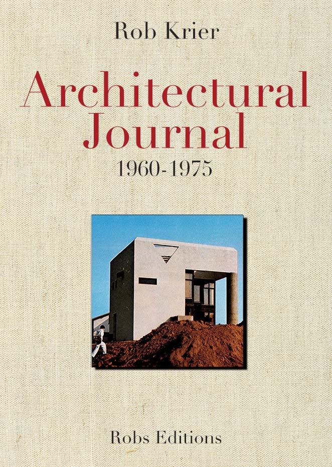 "Cover of the book ""Architectural Journal 1960 - 1975"""
