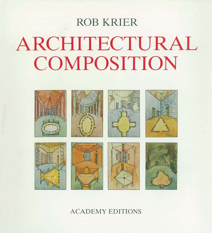 "Cover of the book ""Architectural Composition"""