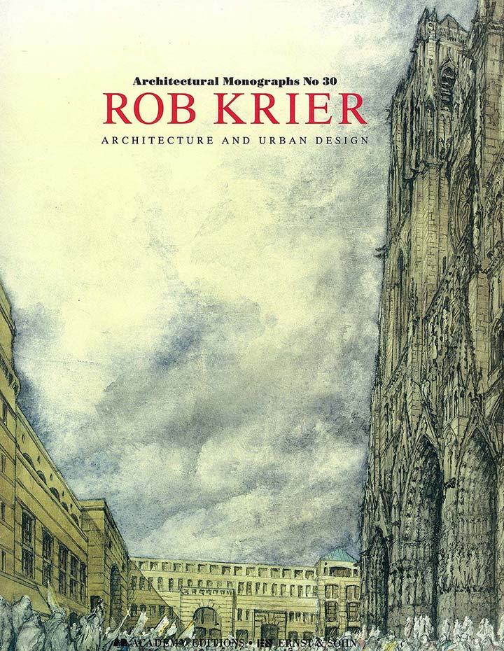 Urban Book Cover Design ~ Books overview of rob krier architect sculptor