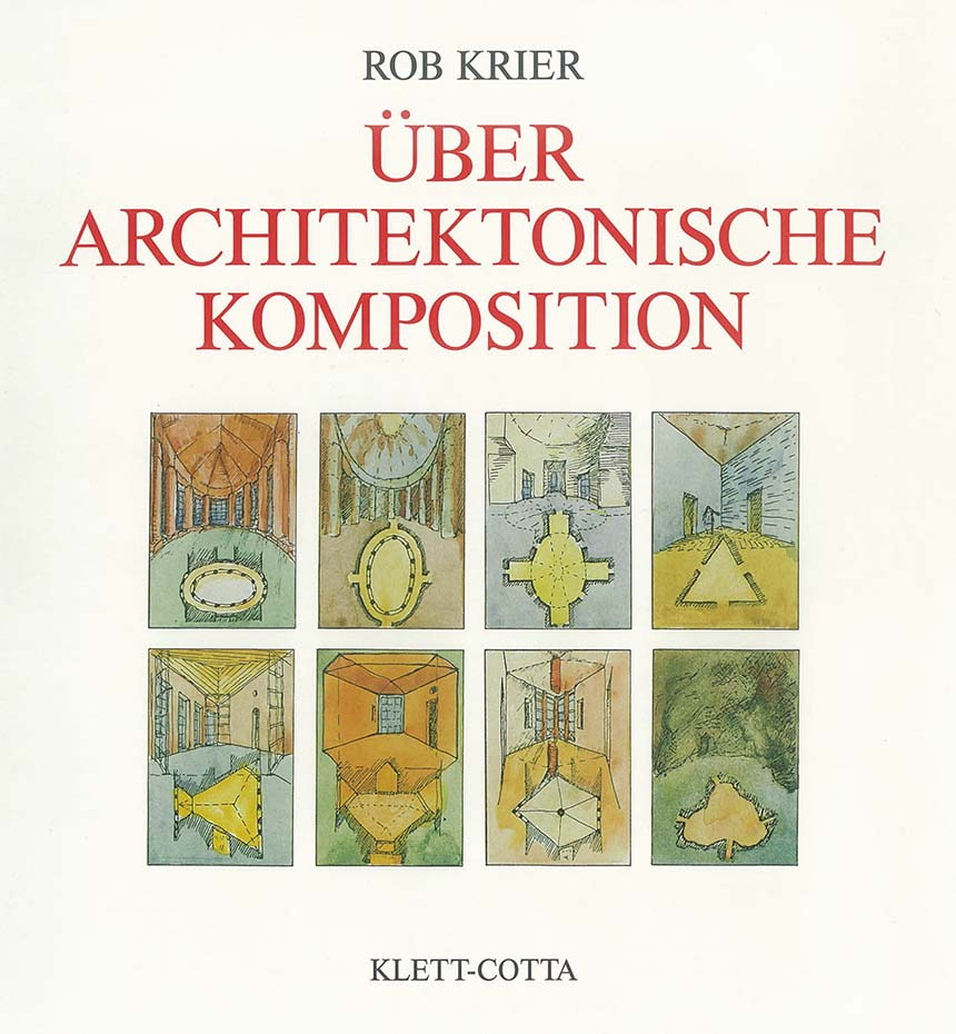 "Cover of the book ""Über architektonische Komposition"""