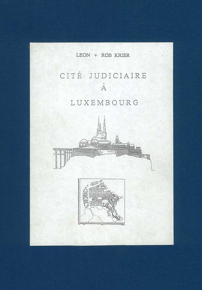 "Cover of the book ""Cité Judiciaire à Luxembourg 1995"""