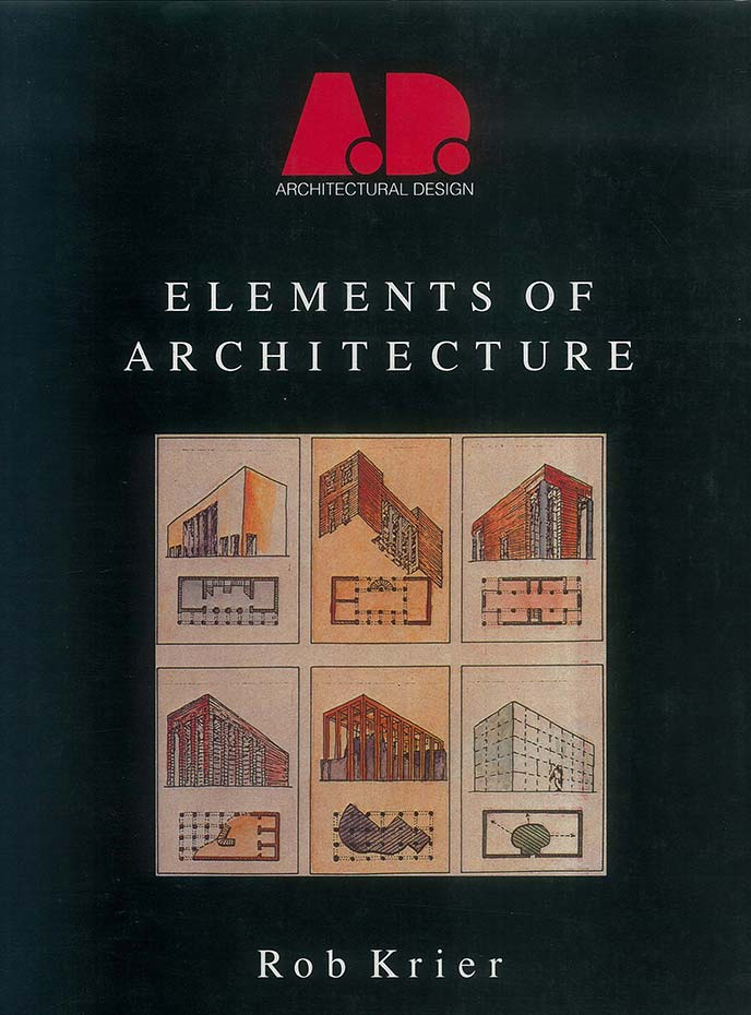 "Cover of the book ""Elements of Architecture"""