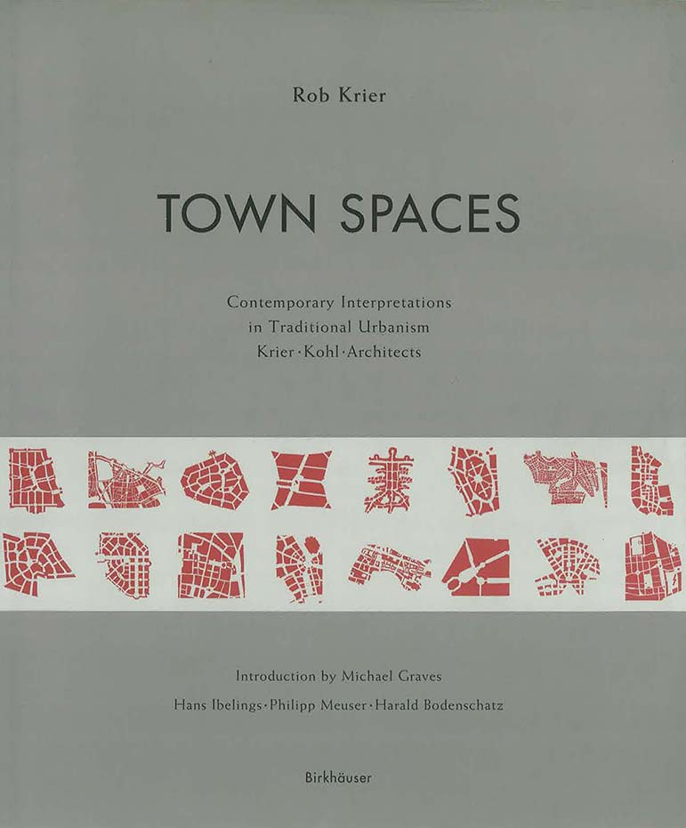 "Cover of the book ""Town Spaces"""